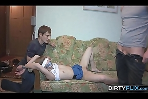 Deprecatory Flix - Surprise leman and double cumshot Sonja