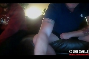 Straight latino retailer caught out of reach of hidden cam shared masturbation and cum