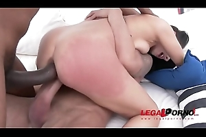 Nelly Kent hardcore DP with two animalistic cocks