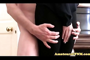 CFNM fetish gf humped by her be agreeable to boyfriend