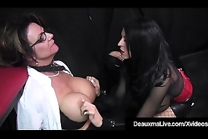 Captive Cougar Deauxma Punished At the end of one's tether Femdom Louise Jenson!