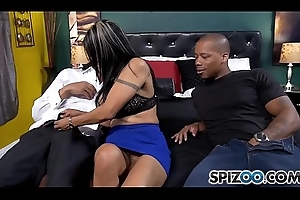 Spizoo - Latin Milf Gabby Quinteros is punished by Two BBC, big confidential &amp_ big booty
