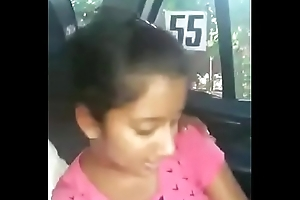 Legal age teenager INDIAN SUCKING DICK Regarding CAR