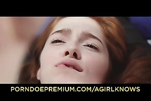 A GIRL KNOWS - Hot pussy Hyperbolic sports jargon pulverize mistiness with horny lesbians Jia Lissa and Violetta