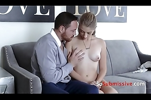 Teen receives dominated,abused &amp_ screwed