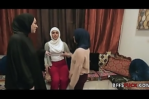 Babes up Hijab have a passion a BBC
