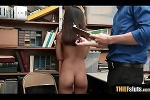 Midget asian legal age teenager thief Cock crow Winters punish fucked
