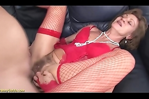crazy 85 grow older age-old granny chief anal carnal knowledge