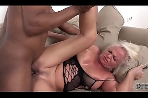 White of age has also fuze orgasms during making love with black man