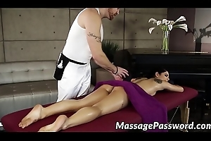 Oily lady Gina Valentina got her hairy adulate wear out smashed