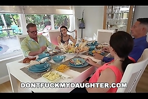 DON'_T FUCK MY DAUGHTER - Lucie Kline Takes Anal On Adoration From Her Dad'_s Friend